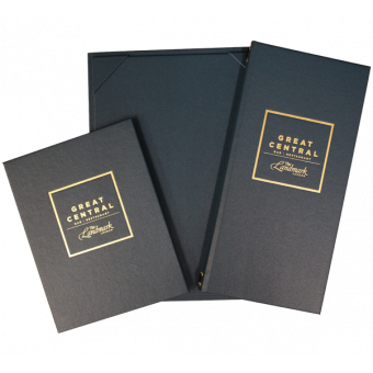 The Buckram Range - Bespoke Menu Covers for Hotels and Restaurants
