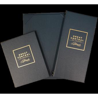 The Buckram Range - Bespoke Menu Covers for Hotels and Restaurants