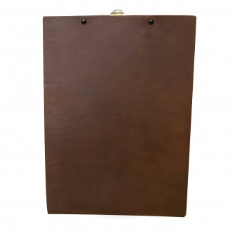 Saddle Hide Menu Board - Bespoke Menu Covers for Hotels and Restaurants