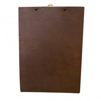 Saddle Hide Menu Board - Bespoke Menu Covers for Hotels and Restaurants