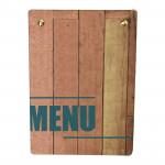 Wood Menu Board